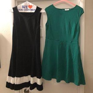 New York & Co-- Fit & Flare Dresses (2 dress lot!)